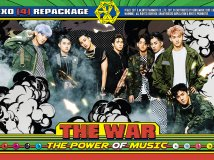 170905 EXO THE WAR: The Power of Music 专辑官配海报 1P